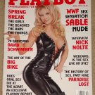 Playboy Magazine - April 1999 (B) WWF Sable nude, Nick Nolte, spring break webcam sex
