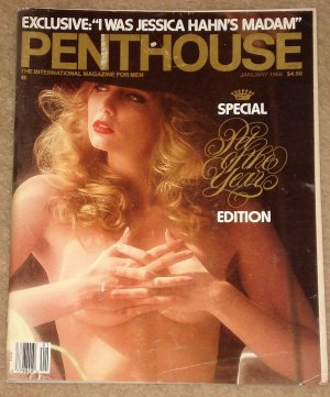 Penthouse magazine - January 1988 Michael Jackson and his changes, Jessica Hahn,