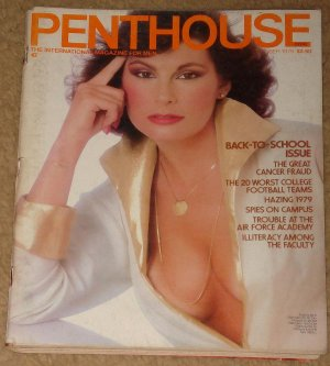 Penthouse magazine - October 1979, Worst college football teams, hazing, cancer fraud