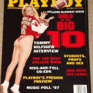 Playboy Magazine - October 1997 (B) Girls of the Big 10, Tommy Hilfiger, Tea Leoni, college bars