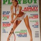 Playboy Magazine - August 2008 (B) Ashley Harkleroad, Ben Stiller Tennis, Selma Blair, Susie feldman