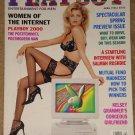 Playboy Magazine - April 1996 (B) women of the Internet, Salman Rushdie, VW Beetle, Michael Madsen
