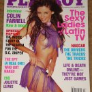 Playboy Magazine - March 2003 Latin Ladies, Colin Farrell, Juliette lewis, NASCAR, Online gaming