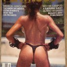 Penthouse magazine - November 1985 Medical genocide campus sex Alfred Regnery motorcycle ice racing