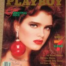 Playboy Magazine - December 1986 Brooke Shields, Bryant Gumbel, Women of 7/11, Koko