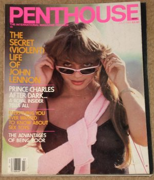 Penthouse magazine - July 1983 Prince Charles, Stephen Barry, Life of John Lennon, sex toys