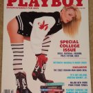 Playboy Magazine - October 1988 College issue, Roger Craig, Morton Downey Jr, Iran arms deal