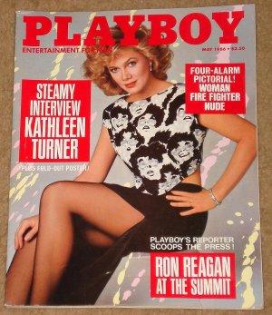 Playboy Magazine - May 1986 Kathleen Turner, Kim Basinger, movies, Harvard Business School