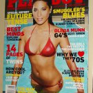 Playboy Magazine - August 2009 Olivia Munn, Alec Baldwin, 14 pages of TWINS! smugglers, double issue