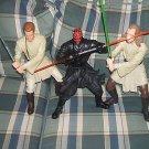 """Star Wars Maul/Kenobi/Jinn Menace 12"""" Mega Figures Ep I"""