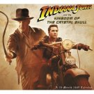 2009 Indiana Jones & Kingdom of the Crystal Skull Calendar MINT