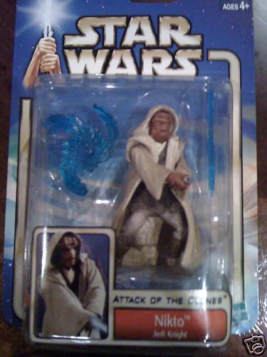 Star Wars AOTC -- MINT in Package -- Nikto Jedi Knight