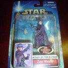 Star Wars AOTC -- MINT in Package -- Zam Wesell Bounty Hunter