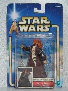 Star Wars AOTC -- MINT in Package -- Jar Jar Binks Gungan Senator