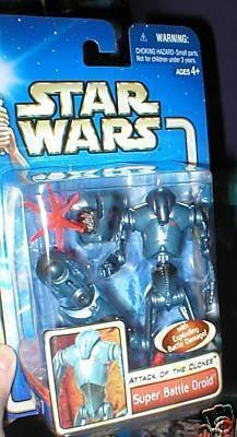 Star Wars AOTC -- MINT in Package -- Super Battle Droid