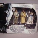 2004 Star Wars A New Hope DVD Trilogy 4 Figure Set MIB