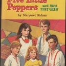 vintage Five Little Peppers and How They Grew HC 1955
