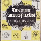 The Complete Antiques Price List Ralph & Terry Kovel 1969