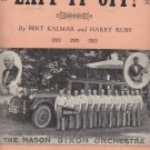 Laff it Off Bert Kalmar Harry Ruby Feat Mason Dixon Orchestra Music sheet