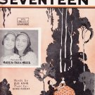 when you and I were seventeen Gus Kahn Chas Rosoff