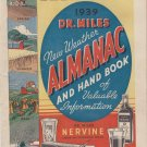 Dr.Miles Weather Almanac 1939