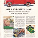 Studebaker Truck full page advertisement 1955