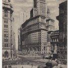 Vintage Postcard Broadway New York City 1934
