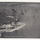 Vintage New York postcard Bedloes Island Statue Liberty