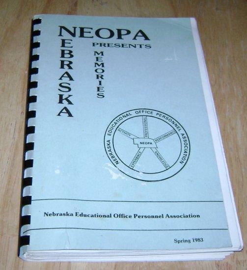 Neopa Nebraska Presents Memories Cookbook