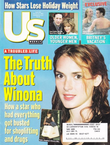 US Weekly The truth about Winona Ryder shoplifting and drugs