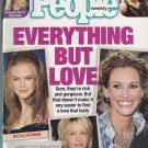 People Weekly August 27 2001 Madonna feat - Tara Reid Nicole Kidman