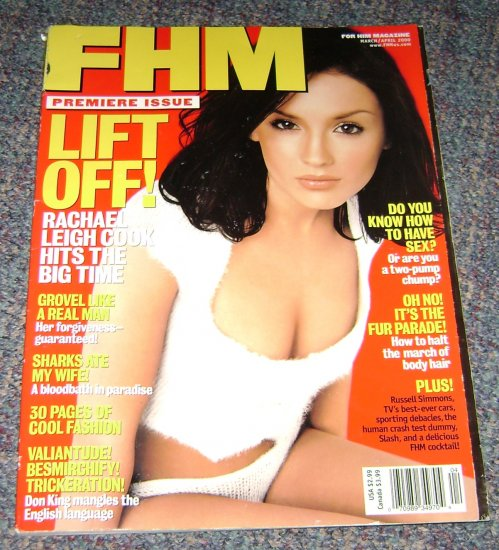 FHM magazine March/April 2000 Susan Ward Brittany Daniel Leslie Bibb Don King articles
