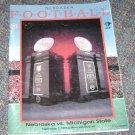 Nebraska football guide sept-7 1996 Michigan State Brook Berringer dedication