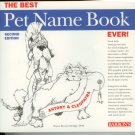 The Pet Name Book 2nd edition Wayne Bryant Eldridge DVM