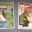 Princess Diana Enquirer Farewell & Star Memorial issues