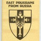 Supplement To East Prussians From Russia Michael J. Anuta
