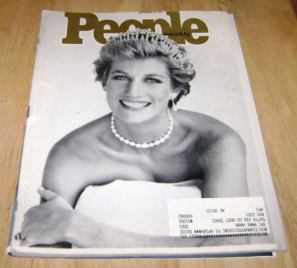 People magazine Sept 15 1997 Princess Diana cover & best & worst dressed 97
