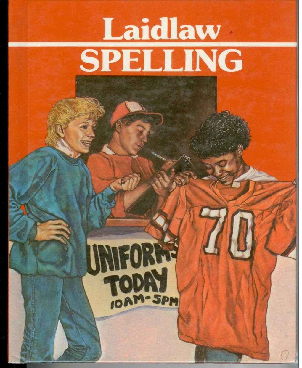 Laidlaw Spelling Grade 7 Hardcover