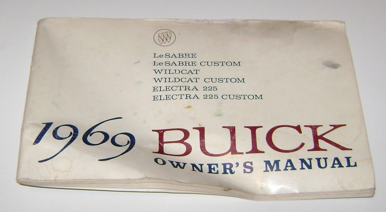 1969 Buick owners manual Lesabre Electra Wildcat