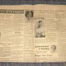 Wahoo Ne Newpaper Society Terry Lippold John Mills Shirley Epperson  Patti Hapke Connie Behrens 1966