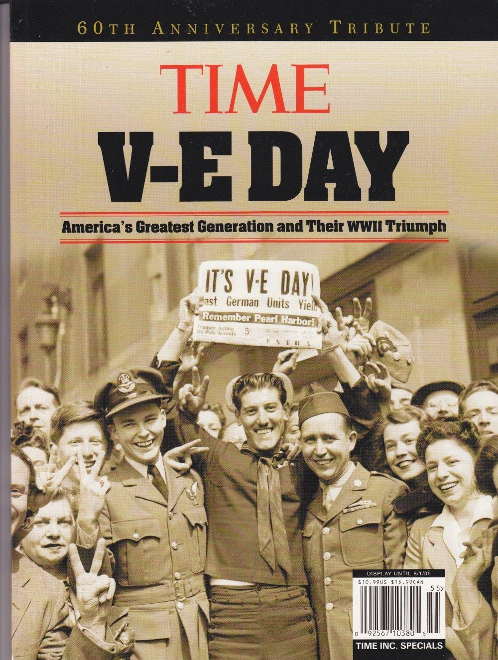 Time V-E Day 60th anniversary tribute magazine