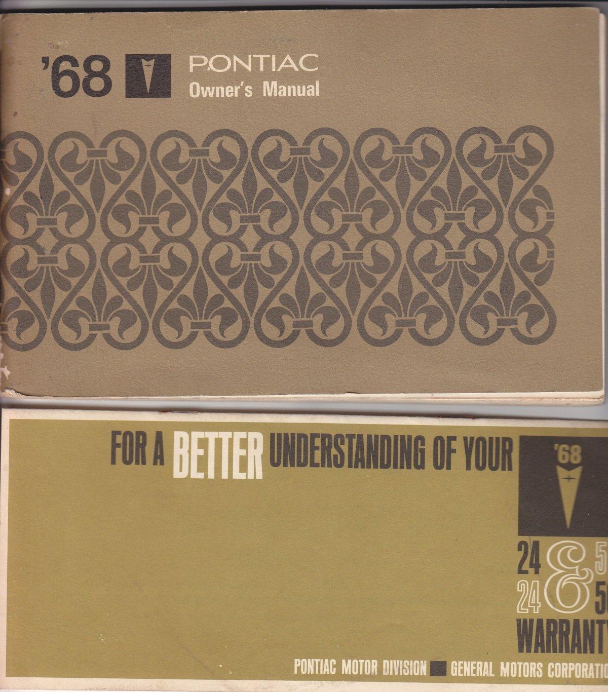 1968 Pontiac Owners Manual