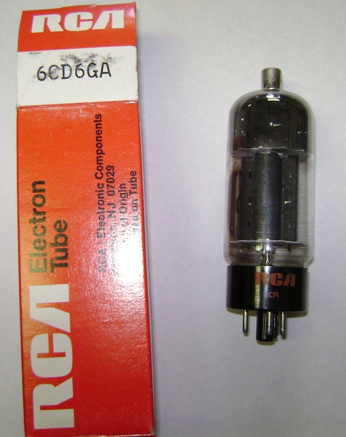 6cd6ga Vacuum Tube RCA