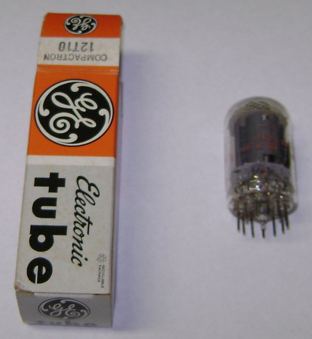 GE Electronic Vacuum tube 12T10 Compactron NOS