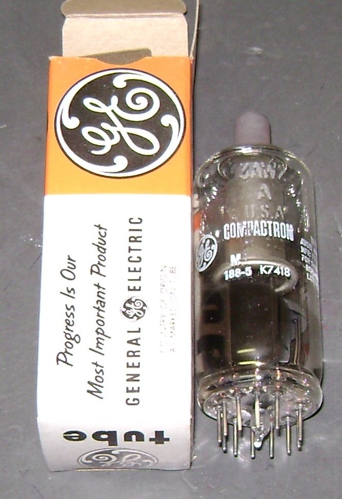 GE vacuum tube 3AW2A NOS