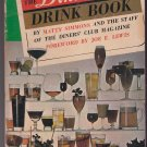 The Diners Club Drink Book PB 1966 Matty Simmons