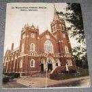 St Wenceslaus Catholic Church Wahoo Ne Parish Directory 1987