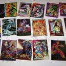 18 Marvel Super Heroe Trading Cards