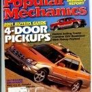 Popular Mechanics Aug 2000 2001 buyers guide 4-door pick-ups