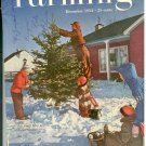 Successful Farming Dec 1954 Henry Kling Family cover Kellogg IA & Pic 1955 Chevrolet